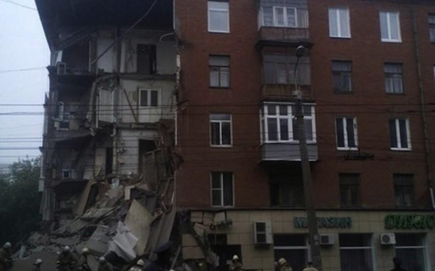 Permdə binanın uçması nəticəsində xəsarət alanlardan biri xəstəxanada ölüb - YENİLƏNİB - FOTO