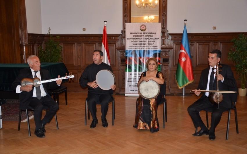 Macarıstanda Azərbaycan xalq musiqisindən ibarət konsert proqramı təşkil olunub