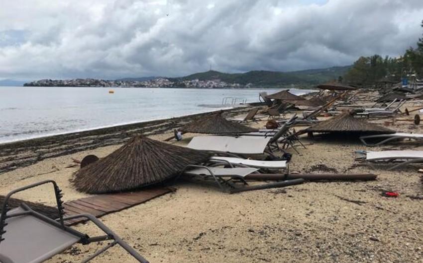 Yunanıstanda fırtına olub, 6 nəfər ölüb, 108 nəfər yaralanıb