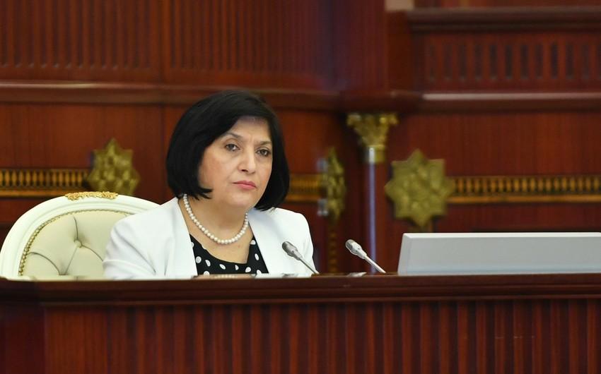Sahibə Qafarova: Bir neçə deputat koronavirusa yoluxub