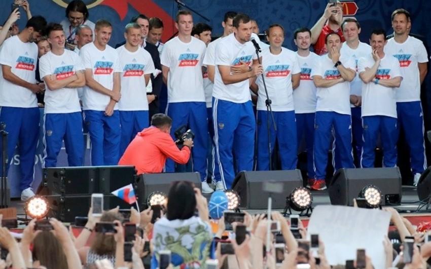 KİV: Rusiya yığmasının futbolçuları dopinqdən istifadə edib