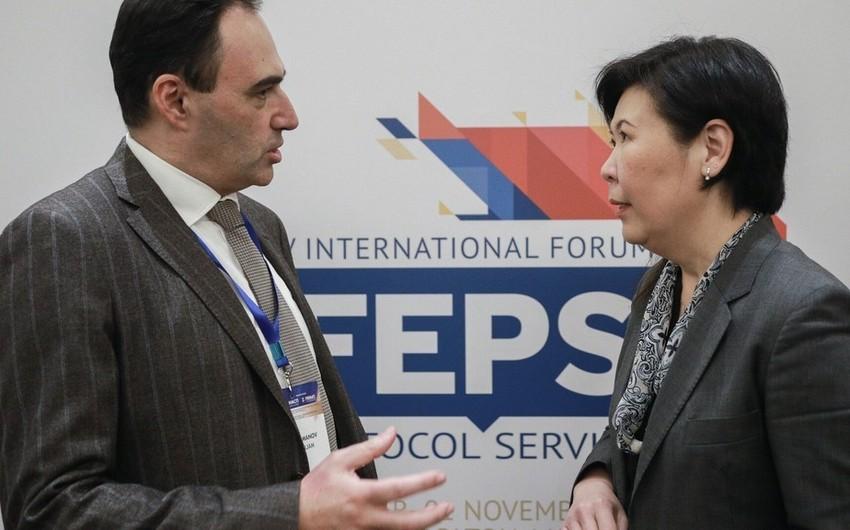 Азербайджан принял участие на международном форуме ведущих экспертов по протоколу и деловому этикету