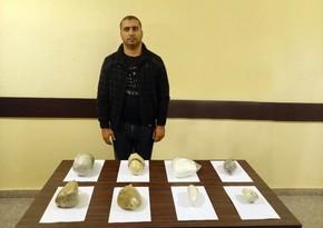 DSX: İranla sərhəd yaxınlığında şübhəli avtomobil saxlanılıb, narkotik aşkarlanıb