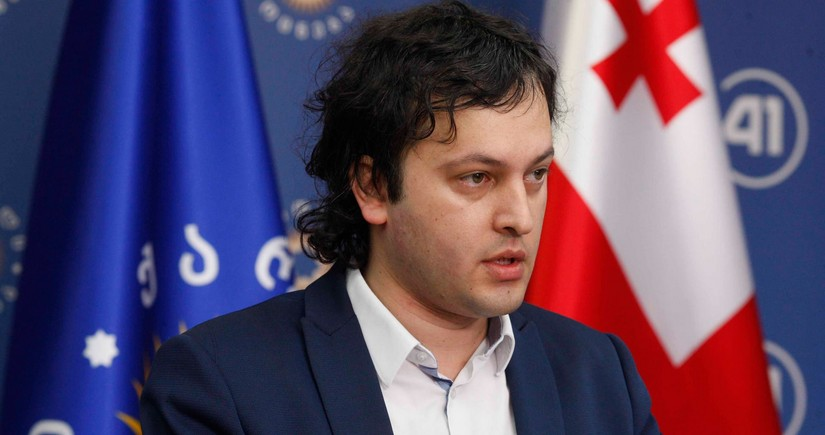 Gürcüstanın hakim partiyasına yeni sədr seçildi