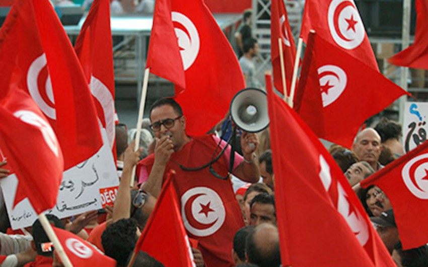 ​A protest rally against terror held in Tunisia