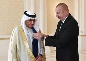 """Azərbaycan Prezidenti İƏT-in Baş katibini""""Dostluq"""" ordeni ilə təltif edib"""
