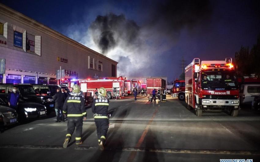 Двое пожарных погибли при тушении возгорания на электростанции в Пекине