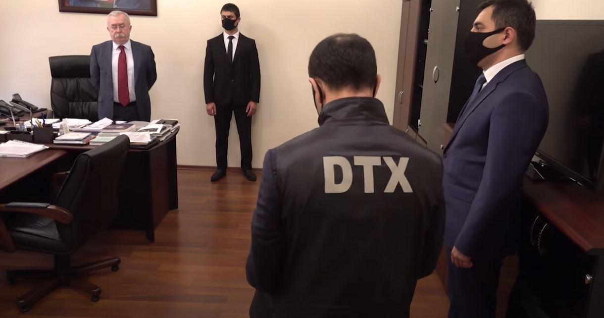 DTX-nin XİN-də keçirdiyi əməliyyatın görüntüləri