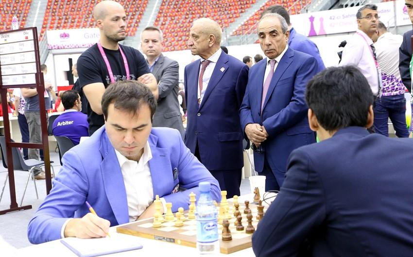 На 42-ой Всемирной шахматной олимпиаде в Баку прошли встречи V тура