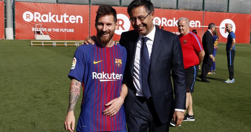 Президент Барселоны прокомментировал вероятность ухода Месси