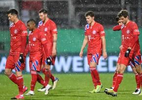 Бавария вылетела из Кубка Германии, проиграв команде из 2-й лиги