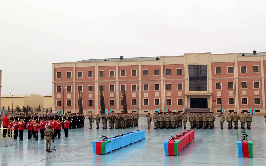 Azerbaijani Ministry of Defence holds swearing-in ceremony