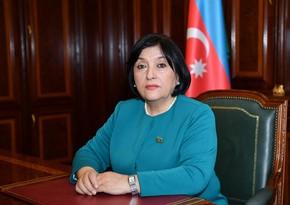 """Sahibə Qafarova: Azərbaycanın müzəffər ordusu hədəflərinə çatır"""""""