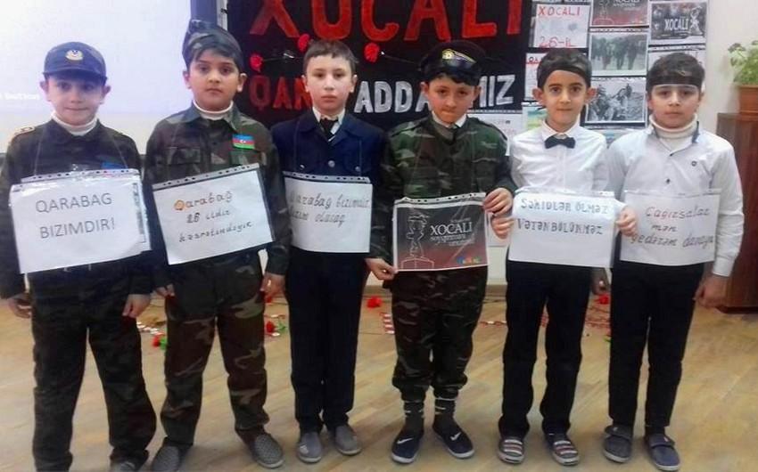 Bakı məktəblərində ilk dərslər Xocalı soyqırımına həsr olunub