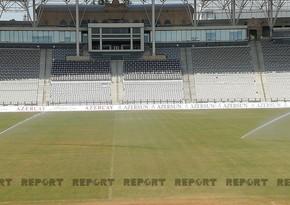 Respublika stadionu Qarabağ - Bazel oyununa hazırlanır