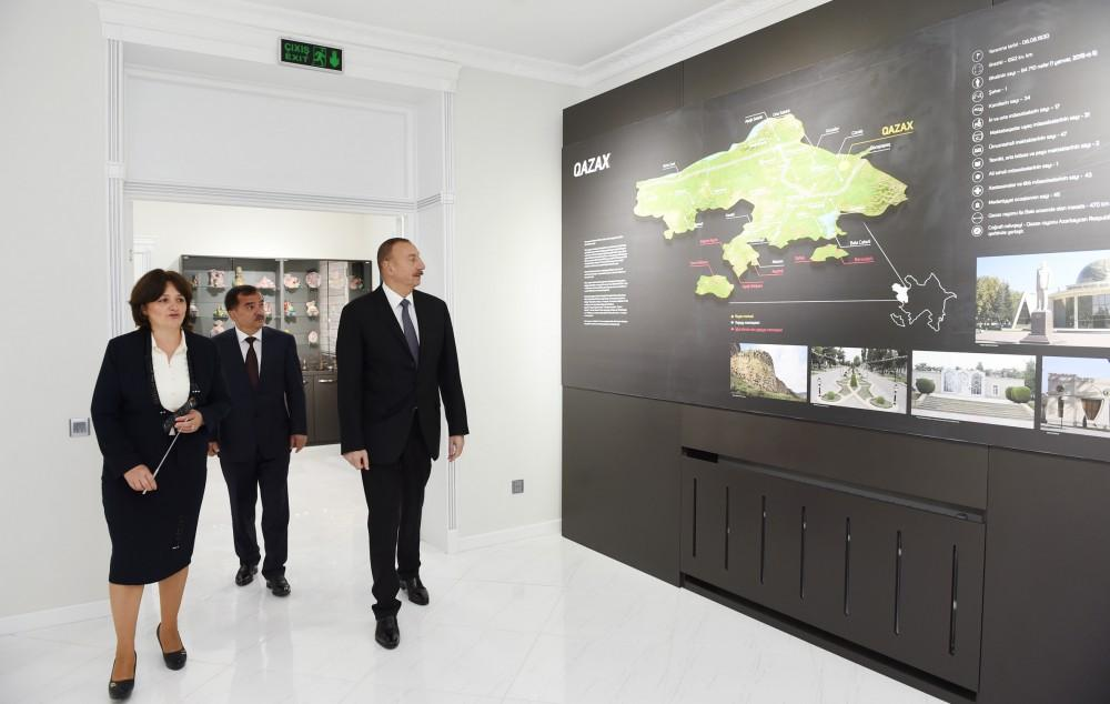 New building of Museum of History and Local Lore in Qazakh inaugurated