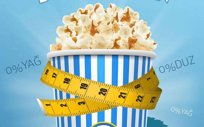 """""""CinemaPlus"""" yeni """"Diet Popcorn"""" məhsulunun satışına başlayır"""