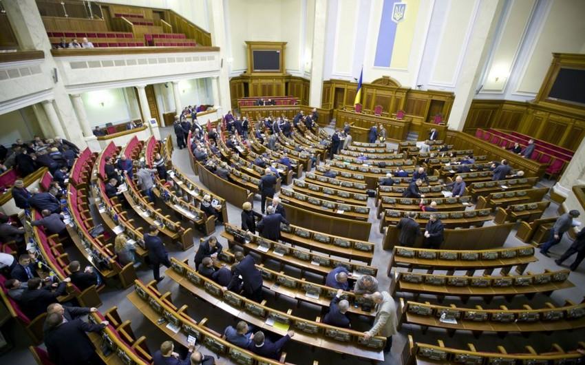 Ukrayna parlamenti Rusiyaya dair qərar qəbul edib