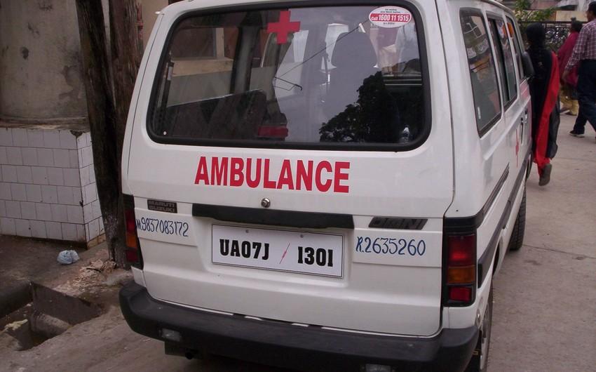 В Индии  восемь человек погибли в ДТП с автобусом