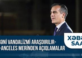 """""""Xəbər Saatı"""": Nyu-York səmasına Qarabağ Azərbaycandır! şüarı yazıldı"""
