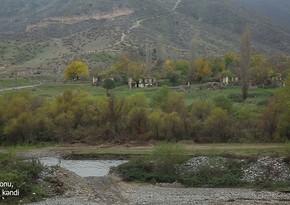 Footage of liberated Gulebird village of Lachin