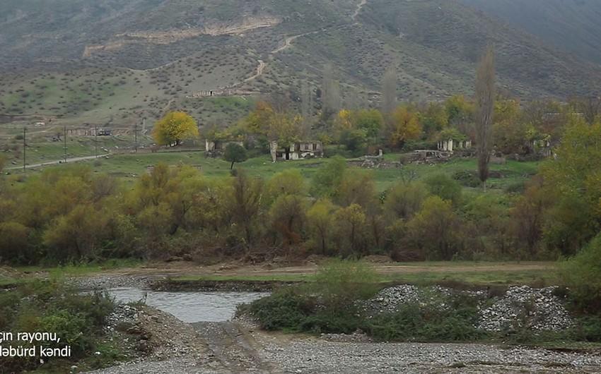 Laçının işğaldan azad olunan Güləbürd kəndindən
