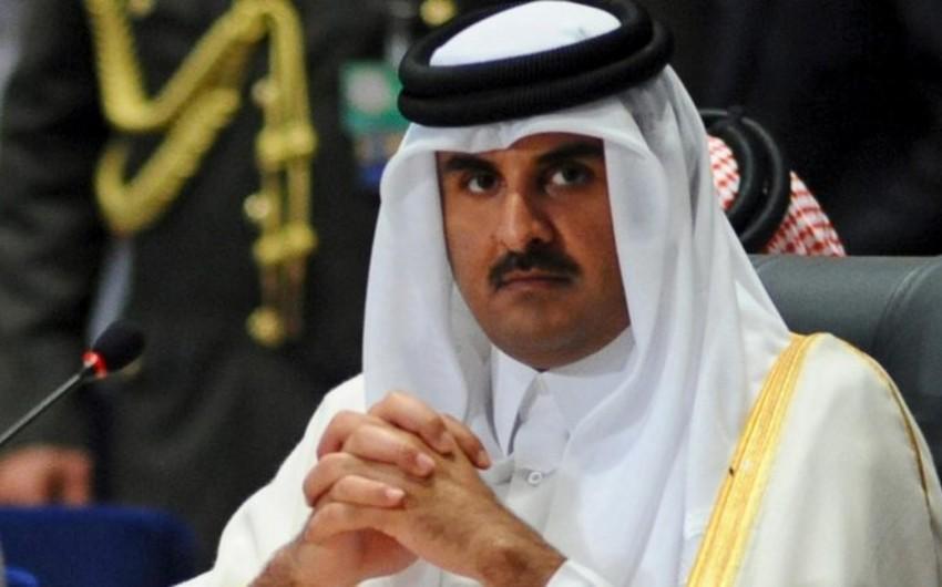 Эмир Катара поздравил президента Ильхама Алиева с победой на выборах