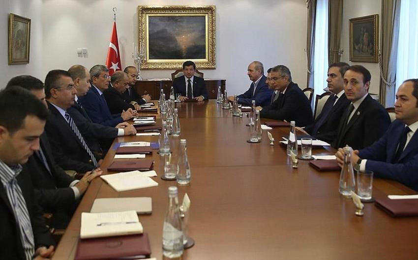 Türkiyə hökumətinin təcili toplantısı keçirilir