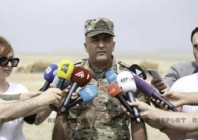 General: Azərbaycan Türkiyədən 20 ədəd mexaniki minatəmizləmə texnikası alıb