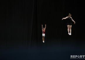 Национальная гимнастическая арена готова к Кубку мира - ФОТОРЕПОРТАЖ