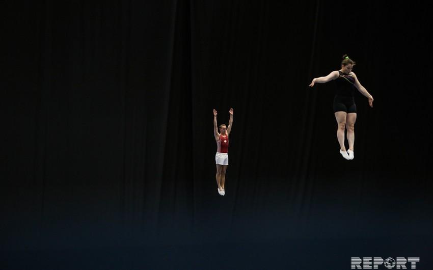 Milli Gimnastika Arenası Dünya Kubokuna hazırdır - FOTOREPORTAJ