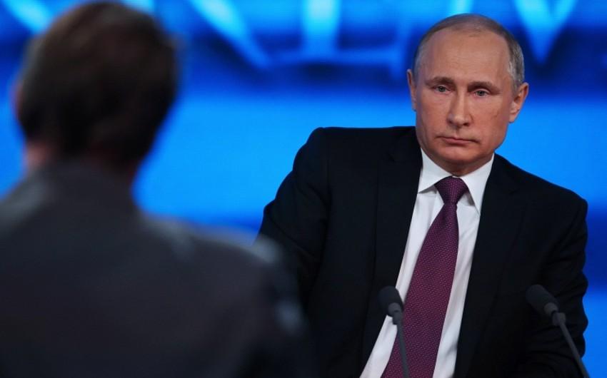 Putin: Türkiyənin iştirakı olmadan regional məsələlərin həlli mümkünsüzdür