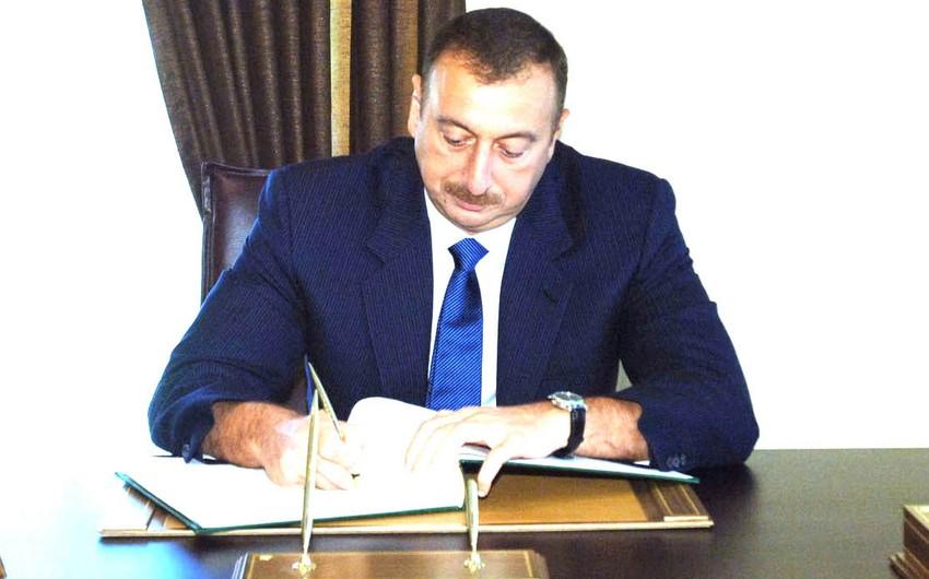 Президент Азербайджана наградил военнослужащих особой службы государственной охраны
