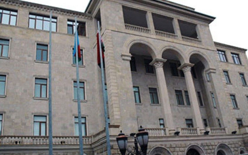 "Event on the ""Exchange of lecturer"" held between Azerbaijani and Slovenian Armed Forces"