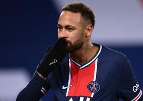 Neymar PSJ-də 100-cü oyununda 80-ci qolunu vurdu
