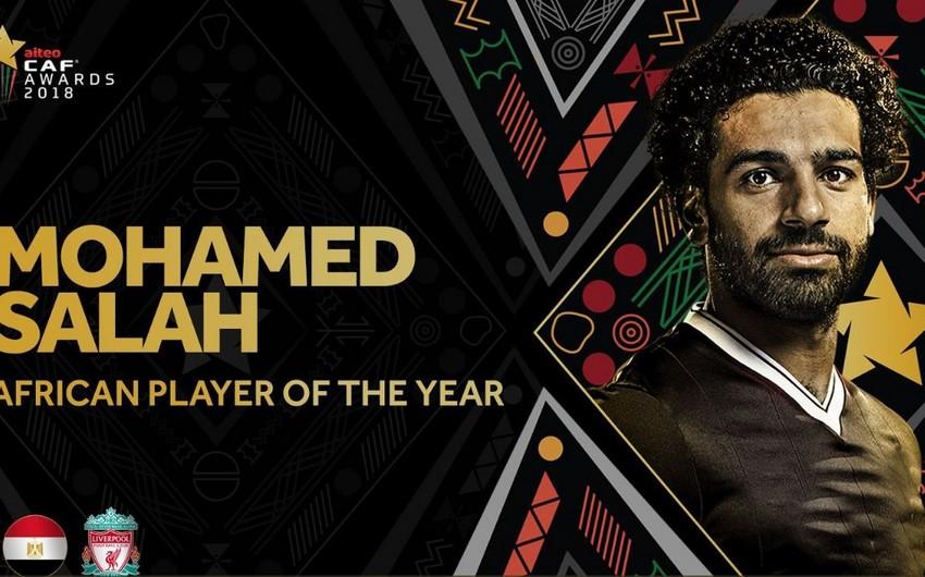 Salah ardıcıl ikinci il Afrikanın ən yaxşı futbolçusu seçilib
