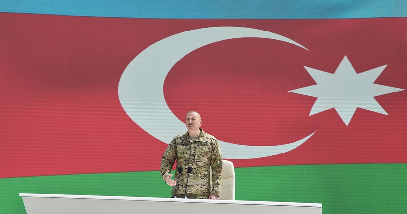 İlham Əliyev: Xalq Cümhuriyyətinin Azərbaycan xalqı qarşısında böyük xidmətləri var