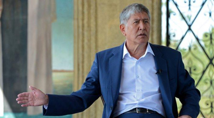 Kyrgyz President records CD of his own songs