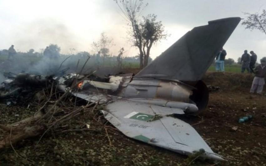 Pakistanda hərbi təyyarə qəzaya uğradı, pilot həlak oldu - VİDEO - YENİLƏNİB