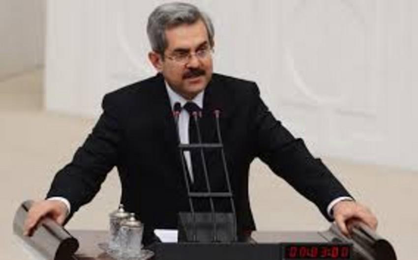 Türkiyə-Azərbaycan Parlamentlərarası Dostluq Qrupunun sədri Azərbaycan xalqını təbrik edib