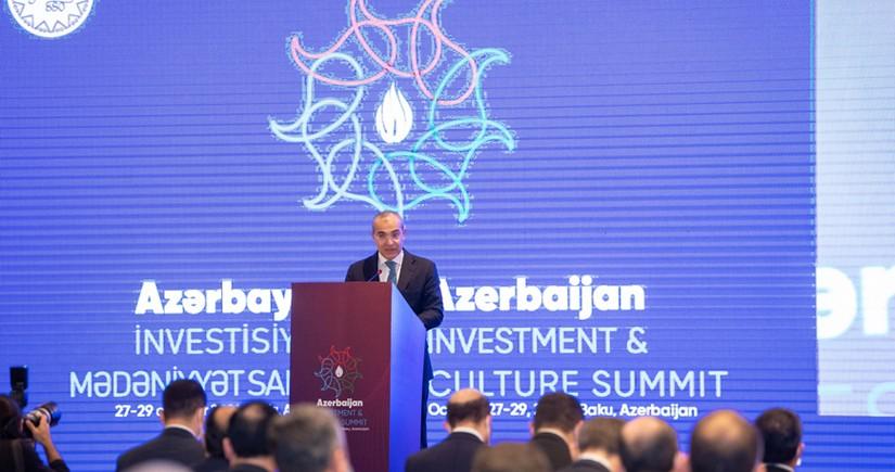 Mikayıl Cabbarov: Azərbaycan İnvestisiya və Mədəniyyət Sammiti əlverişli platformadır