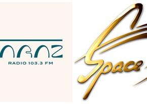 Вещание радиоканалов Araz и Space временно приостанавливается