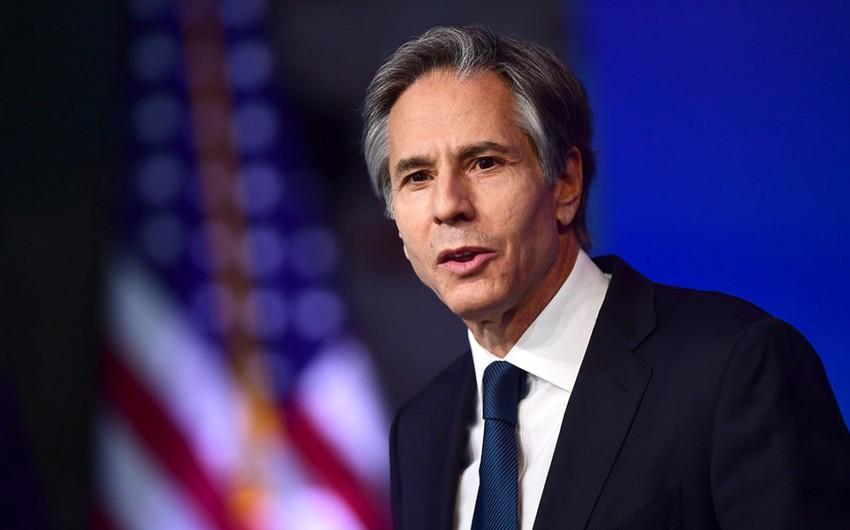 Blinken: Rusiya və ABŞ İranla nüvə anlaşmasının bərpasında maraqlıdır