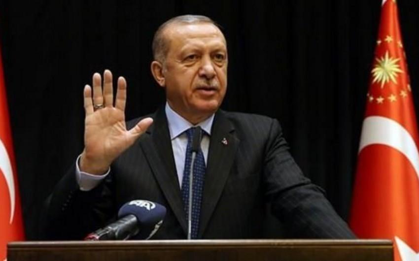 Türkiyə prezidenti: Terrorçularla bir masaya oturmayacağıq