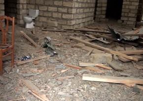 Репортаж из разрушенного армянским снарядом дома в Агджабеди