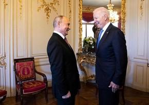 İsveçrə prezidenti Bayden və Putinə saat hədiyyə edib