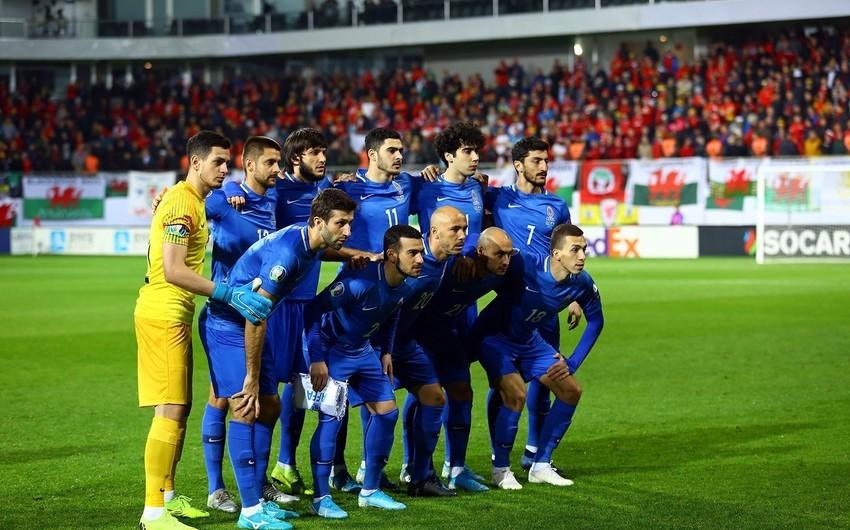 Azərbaycan millisinin FIFA reytinqindəki mövqeyi dəyişmədi