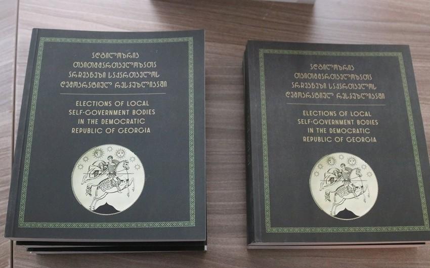 Gürcüstan MSK-nın nəşr etdirdiyi kitabda müsəlman dünyasının ilk qadın deputatı haqqında məlumat yer alıb - FOTO