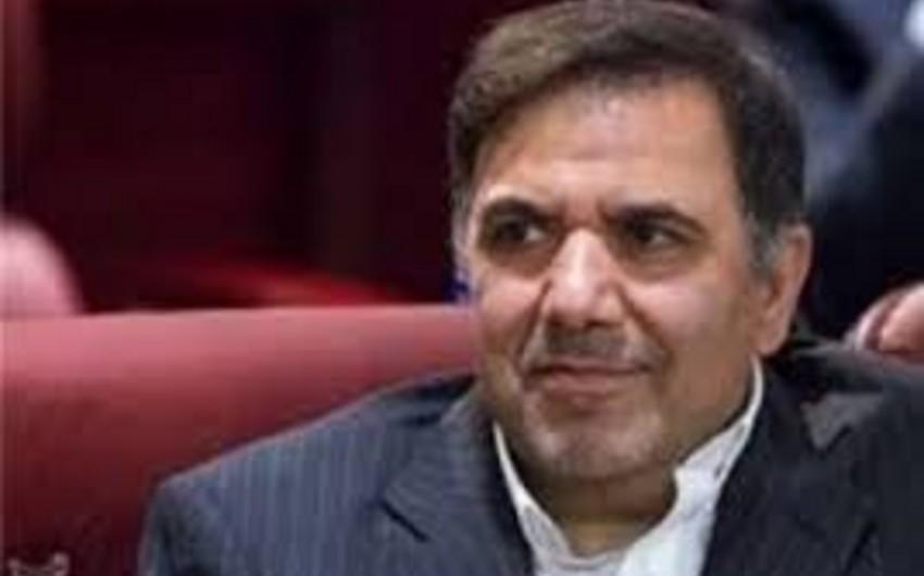 Nazir: İran Azərbaycanla dəmir yolu sistemini birləşdirmək istəyir