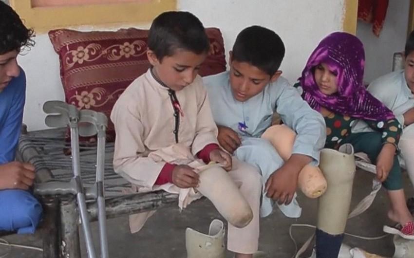 UNİCEF: Əfqanıstanda bu ilin 9 ayı ərzində hər gün doqquz uşaq ölüb